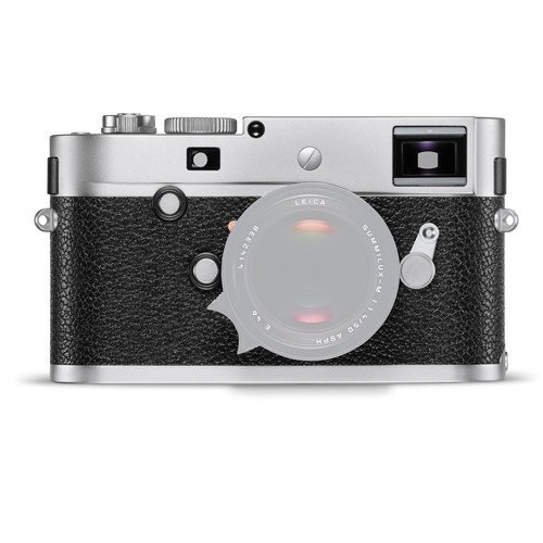 Leica M-P (Typ 240) Digital Rangefinder Camera (Silver Chrome) (International Model no Warranty) by Leica