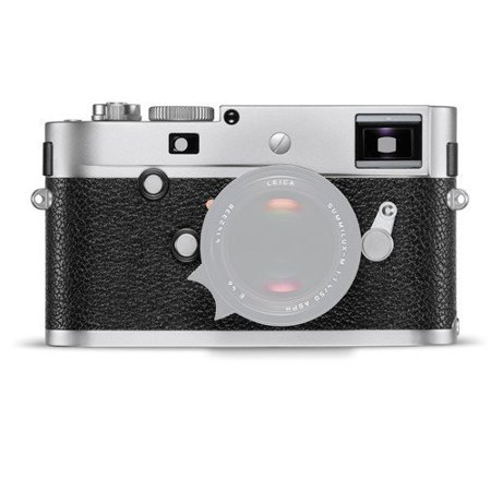 Leica M-P (Typ 240) Digital Rangefinder Camera (Silver Chrome) (International Model no Warranty)