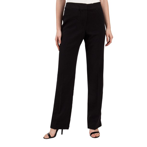 Cheap Black Slacks For Women : Adrienne Vittadini Women's Dress Pants Business Slacks