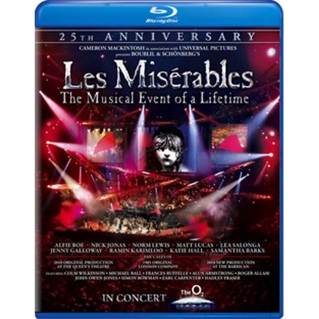 Les Miserables: 25th Anniversary (Blu-ray) (Music D'halloween Le Film)