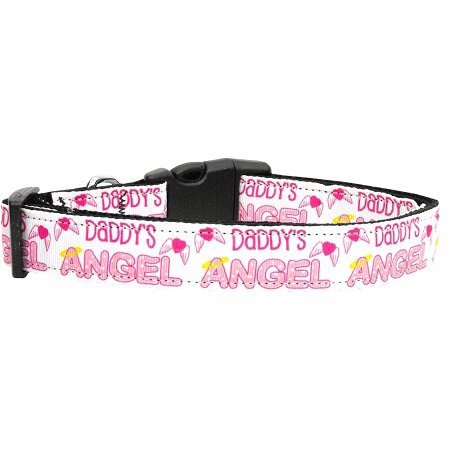 Daddy's Angel Dog Collar Medium](Angel Dog)