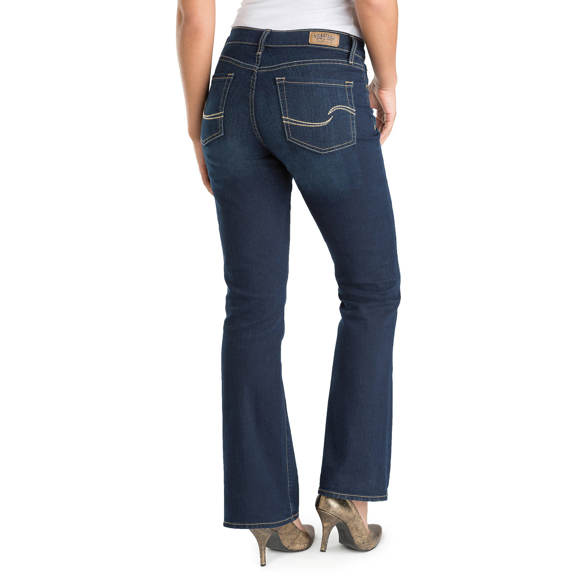 Signature by Levi Strauss & Co.™ Women's Curvy Boot Cut ...