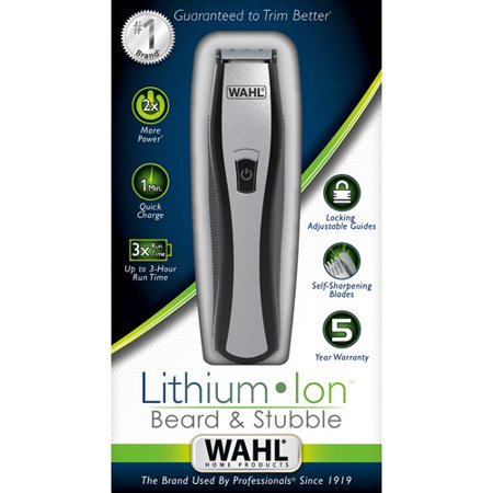 wahl lithium ion beard trimmer review