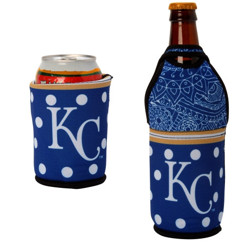 Kansas City Royals Either/Or Can or Bottle Insulator Cooler - No Size