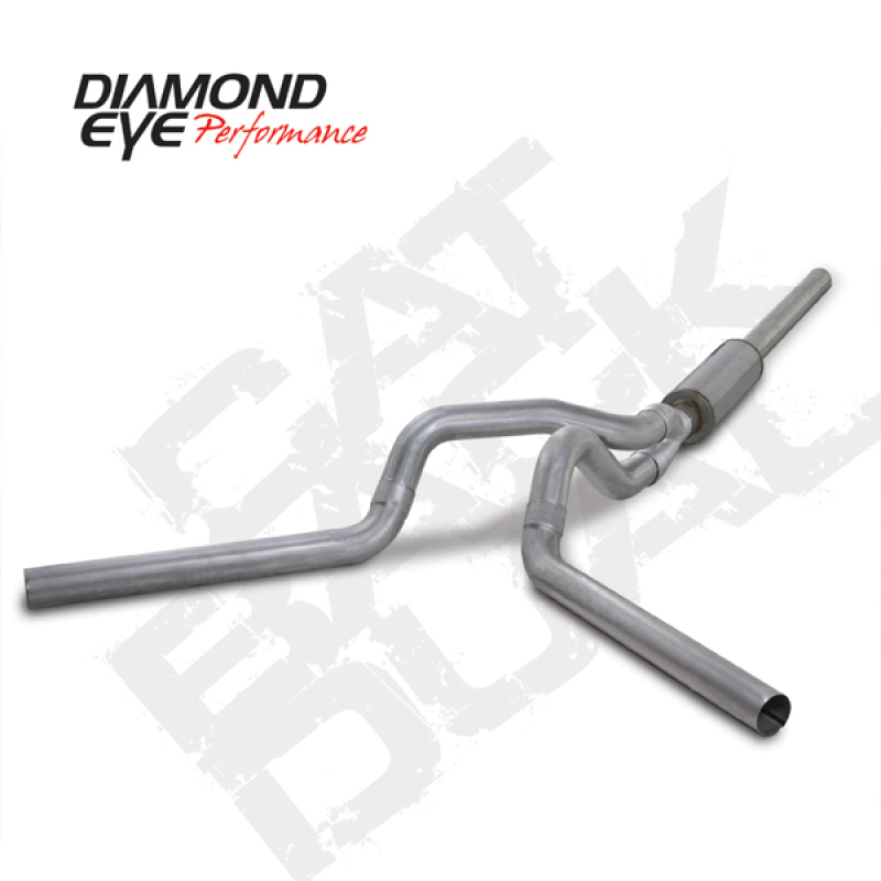 Diamond Eye KIT 4in CB DUAL AL: 2004.5-2007.5 DODGE CUMMINS 600