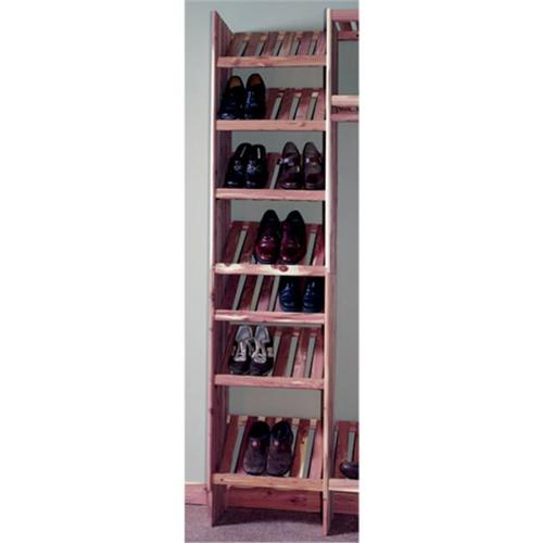 Northern Kentucky Cedar DVSC2412 Aromatic Red Cedar 24 inch Deluxe Ventilated Shoe Cubby Kit