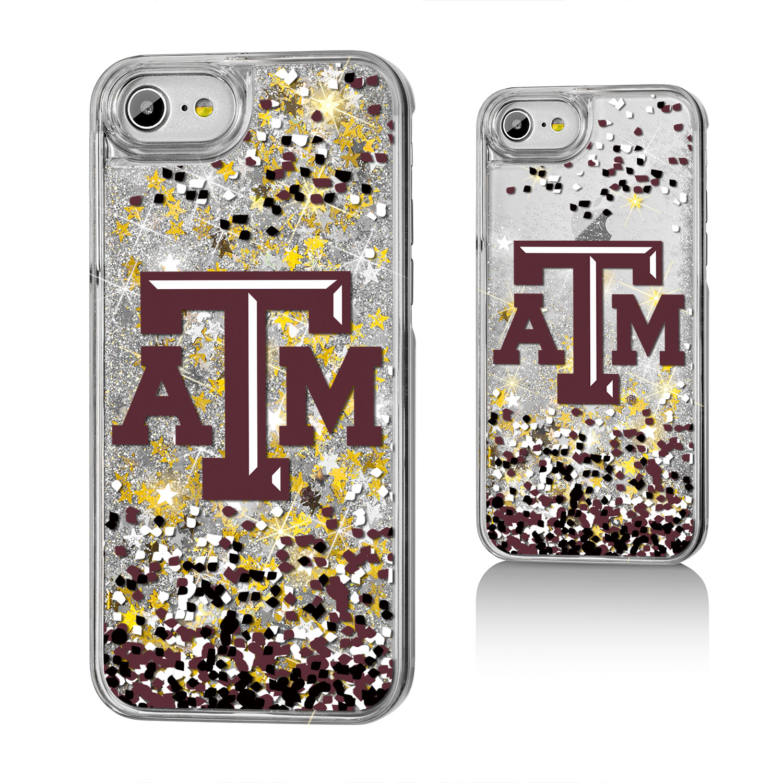ATM Texas A&M Aggies Confetti Glitter Case for iPhone 8 / 7 / 6
