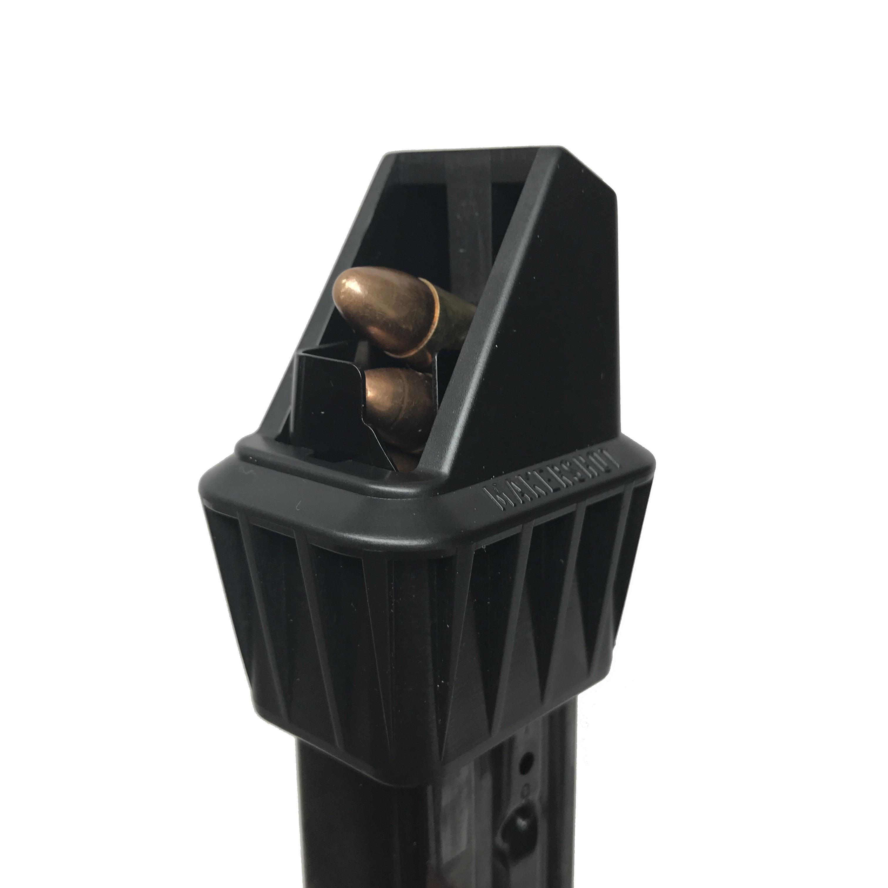 MAKERSHOT Custom 9mm Pistol Magazine Speed Loader (Walther PPX) ; Speedloader ; Magazine Loader by MakerShot LLC