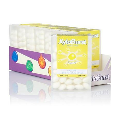 XyloBurst Flip Top Mints, Lemon, 60 Ct