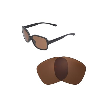 b1330f5309 Walleva - Walleva Brown Polarized Replacement Lenses for Oakley Proxy  Sunglasses - Walmart.com
