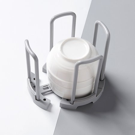 Visland Home Kitchen Retractable Bowl Dish Rack Draining Storage Holder Shelf Organizer - image 4 of 6