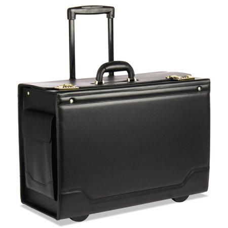 STEBCO Rolling Catalog Case, 21 3/4 x 15 1/2 x 9 3/4, Black -STB341626BLK (Laptop Catalog Case)