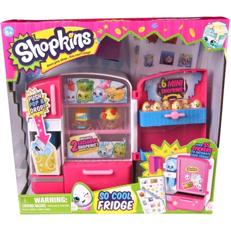 Shopkins series 2 so cool fridge play set for Kitchen set for 8 year old