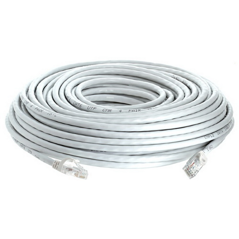 Cmple 959-N CAT 6 500MHz UTP ETHERNET LAN NETWORK CABLE - w 100 FT White