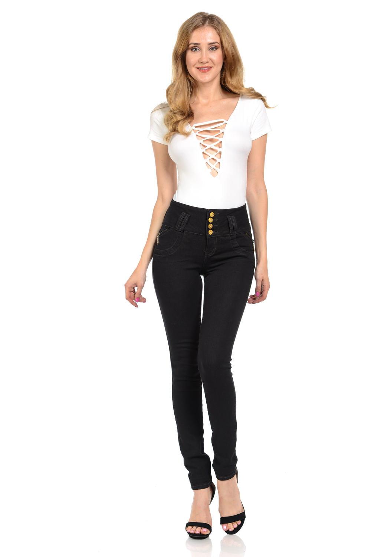 Diamante Women's Jeans · Push Up · Style M1109