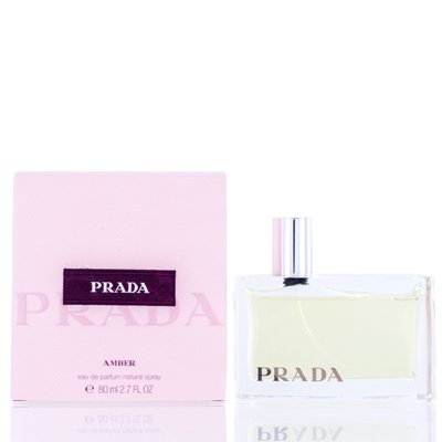 PRADA AMBER/PRADA EDP SPRAY 2.7 OZ Women PRADA AMBER/PRADA EDP SPRAY 2.7 OZ Women    Decoded