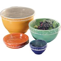 Super Quality !! Thick Plastic Bowl Covers ,SET OF 50 Variety of sizes to fit every bowl perfectly.