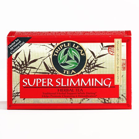 Triple Leaf Super Slimming Tea 1.16 oz each (1 Item Per Order, not per