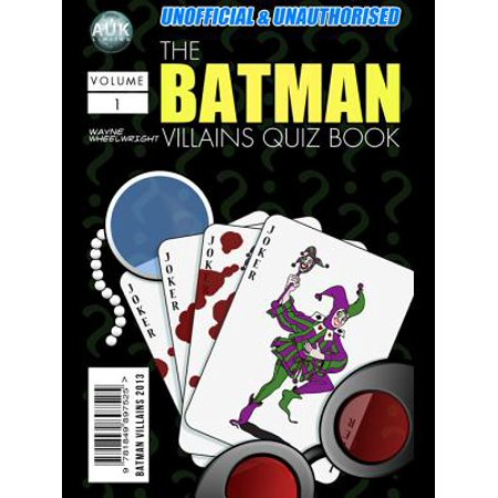 The Batman Villains Quiz Book - eBook - Batman Villain List