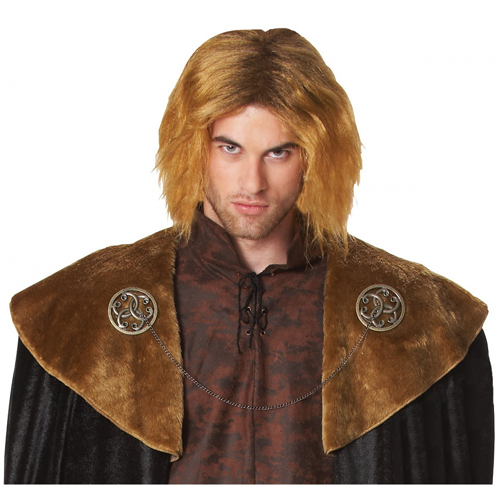 Medieval King Wig Adult Costume Accessory