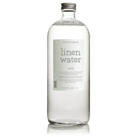 Common Good Linen Water Refill Bottle, Lavender, 32 Oz