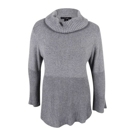 9ebf8db7c20 Style   Co. Women s Cowl-Neck Bell-Sleeve Babydoll Sweater - Walmart.com
