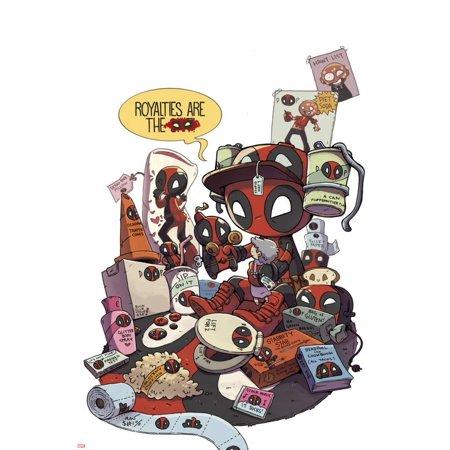 Deadpool Cover Art Print Wall Art](Deadpool Halloween Art)