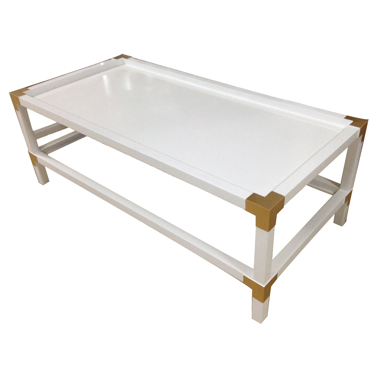 Image of A and B Home Campaign Cocktail Table