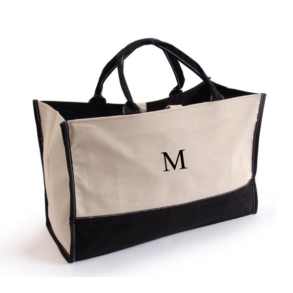 Personalized Canvas Tote Bag