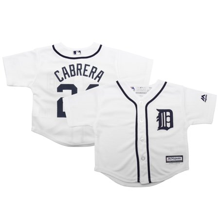 Cabrera Jersey - Miguel Cabrera Detroit Tigers Majestic Infant 2015 Cool Base Player Jersey - White