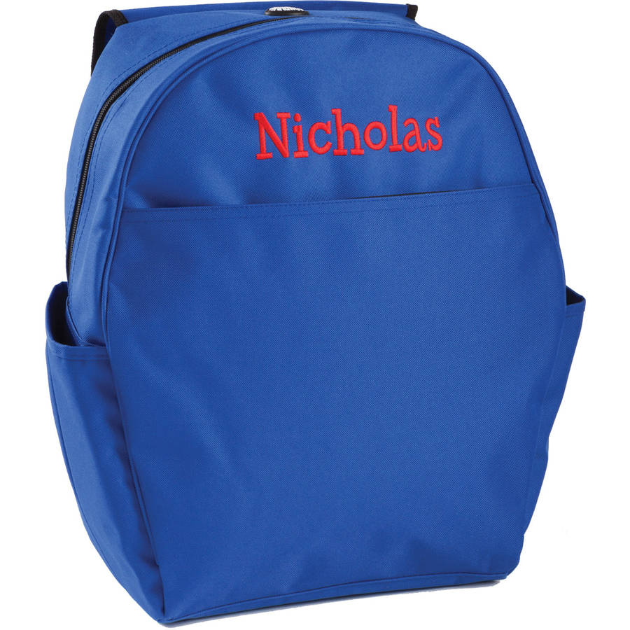 Personalized Backpack Available In Multiple Colors