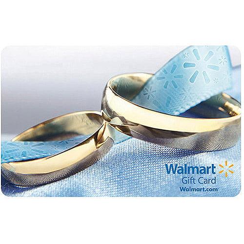 Wedding Rings Walmart Gift Card