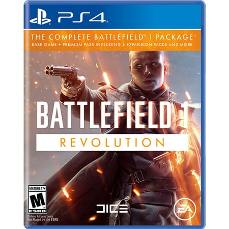 Battlefield 1 Revolution Edition, Electronic Arts, PlayStation 4, 014633738193](Revolution Game)
