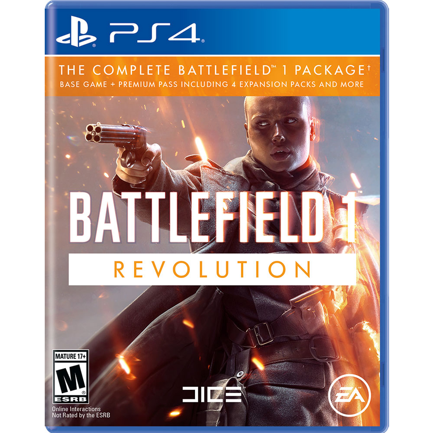 Battlefield 1 Revolution Edition, Electronic Arts, PlayStation 4, 014633738193