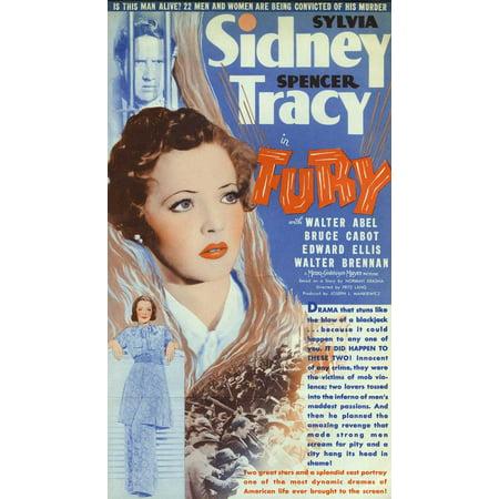 Fury Poster Movie C  27X40