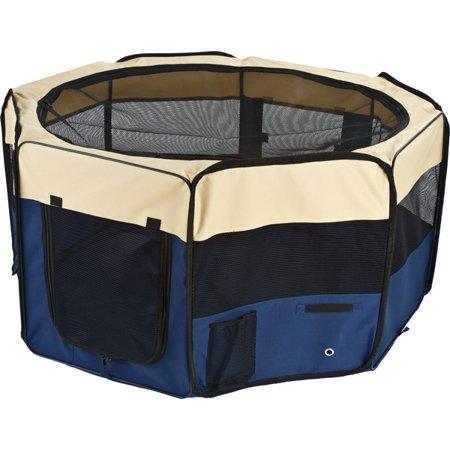 Octagon Mesh Portable Pet Playpen Dog Show Enclosure