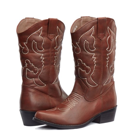 92a46cec619 SheSole Women's Western Cowgirl Cowboy Boots