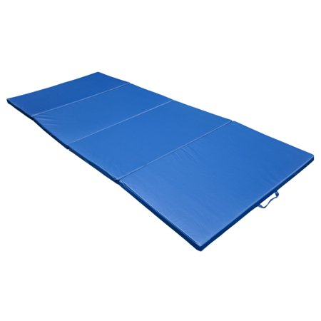 Soozier 10 X 4 X 2 Quot Pu Leather Folding Gymnastics