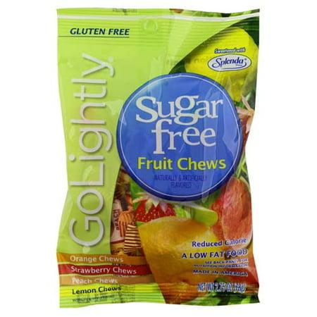 Golightly Sugar Free Fruit Chews Candy - 2.75 Oz, 3 Pack