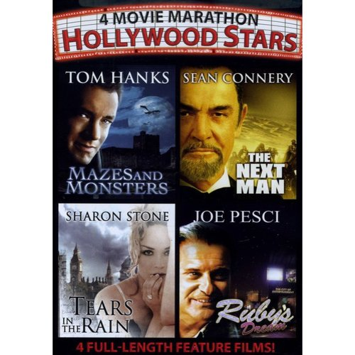 4 Movie Marathon: Hollywood Stars - Mazes And Monsters / The Next man / Tears In The Rain / Ruby's Dream