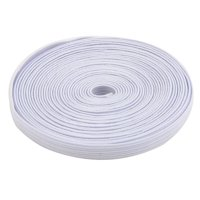 Household Rubber Garment Elastic String Band Sewing Tool White 0.7cm Width