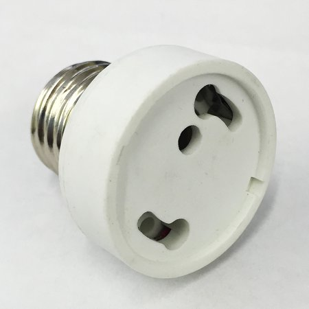 Platinum Gu24 Base To E26 Medium Screw Socket Adapter