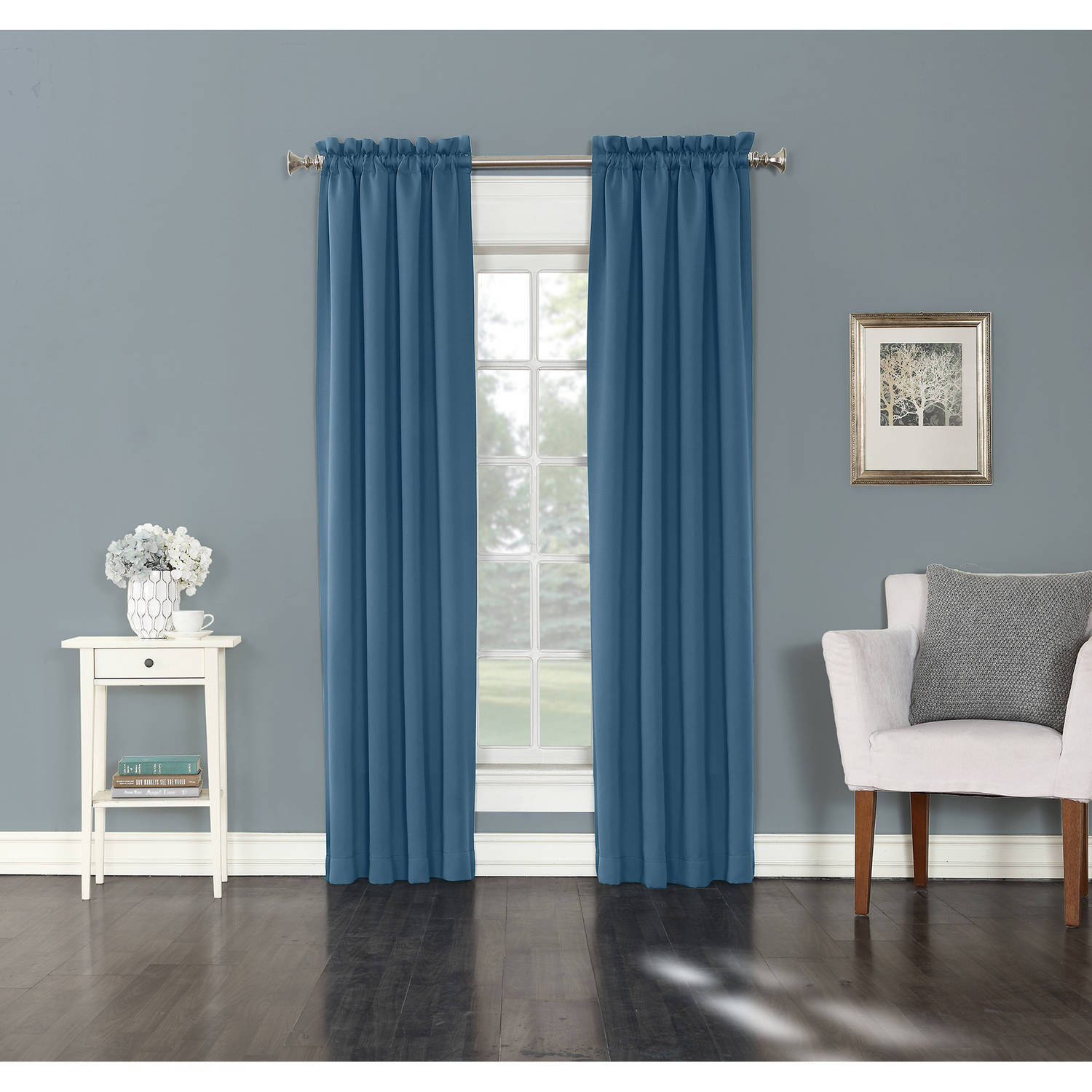 Sun Zero Madden Blackout Energy Efficient Curtain Panel