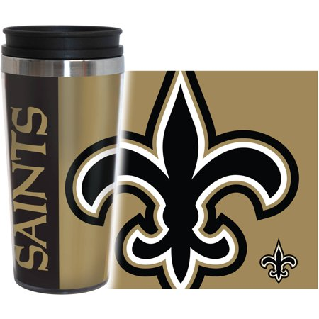 NFL New Orleans Saints 2-Pack Hype Travel Tumbler by
