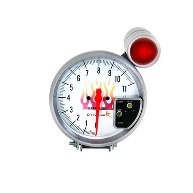 Spec-D Tuning RG-5DK02WH Tachometer Gauge - image 1 de 1