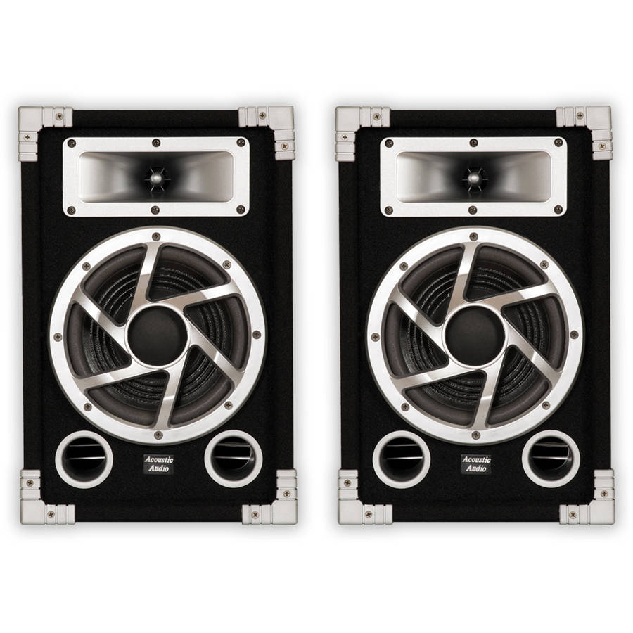 Acoustic Audio GX-450 PA Karaoke DJ Speakers, 1400W, 2 Way, Pair by Acoustic Audio