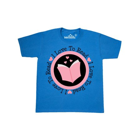I Love To Read book gift Youth T-Shirt
