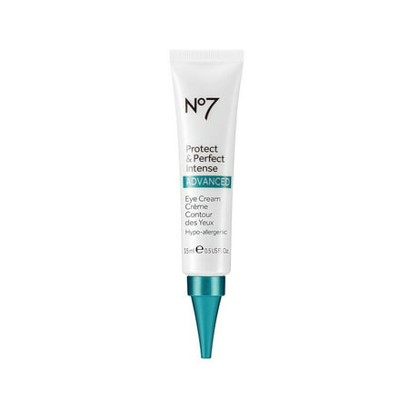 No 7 Protect & Perfect Intense Advanced Eye Cream - 15 ml, NEW Boots No7 Protect & Perfect Intense AdvancedEye Cream By Boots