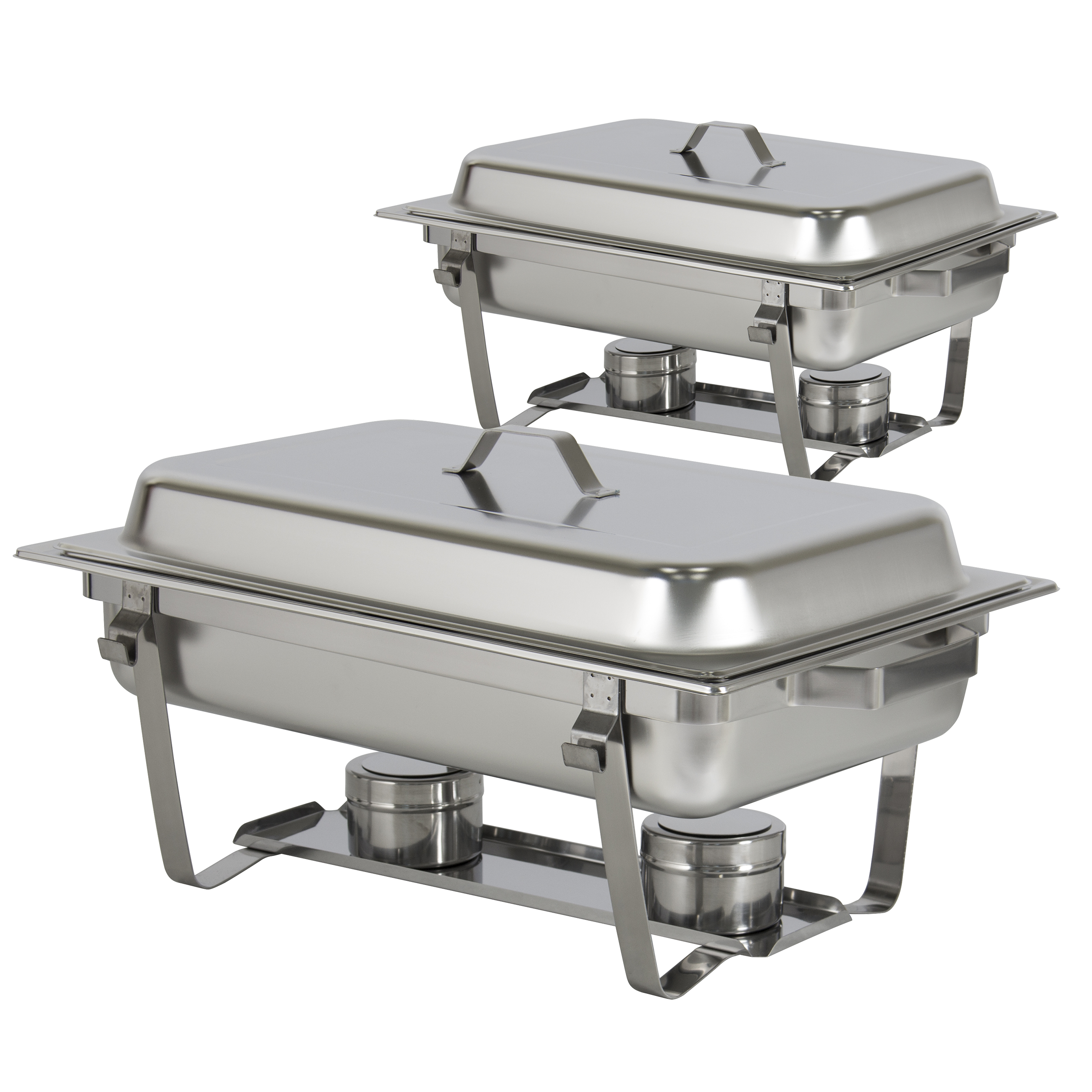 best choice products chafing dish set of 2 8 quart stainless steel rh walmart com chafing dish buffet set canada chafing dish buffet set party city