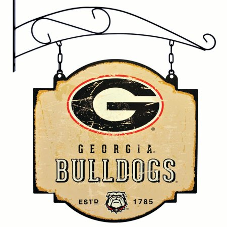 Georgia Bulldogs Official NCAA 16 inch x 16 inch  sign by Winning Streak